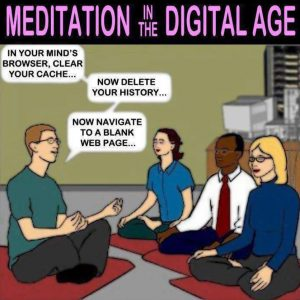 meditation in the online age